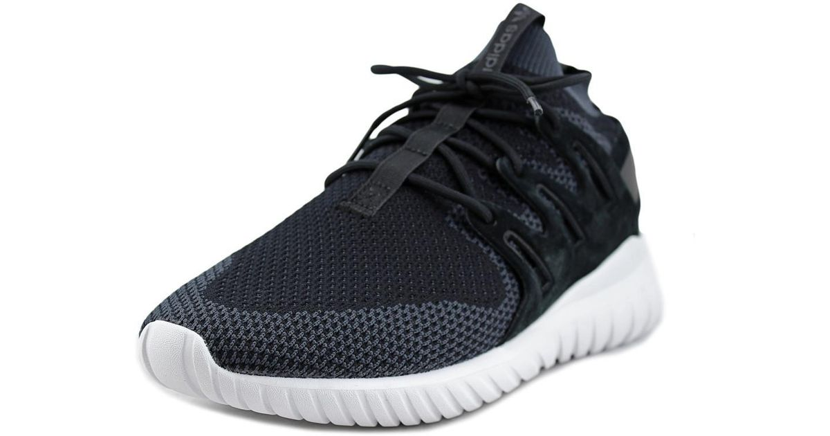 size 40 e05fd 405ef Adidas - Tubular X Primeknit Black Sneakers for Men - Lyst