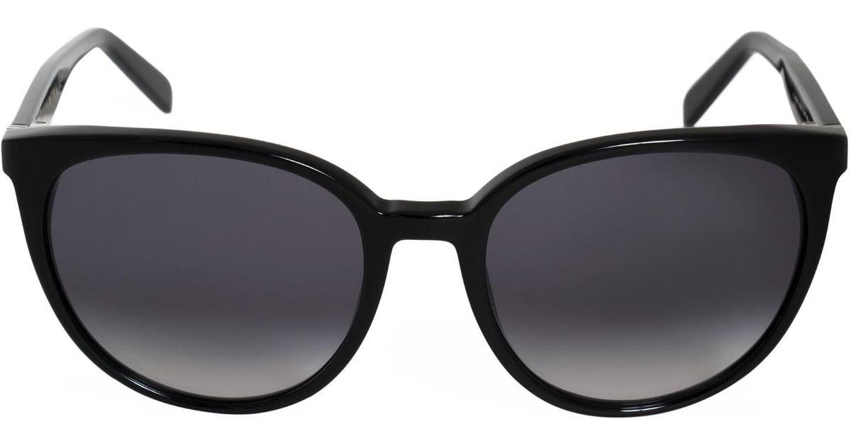 0e27c5998bd Lyst - Céline Sunglasses 41068  s 0807   W2 Dark Gray Degrade Lens in Black