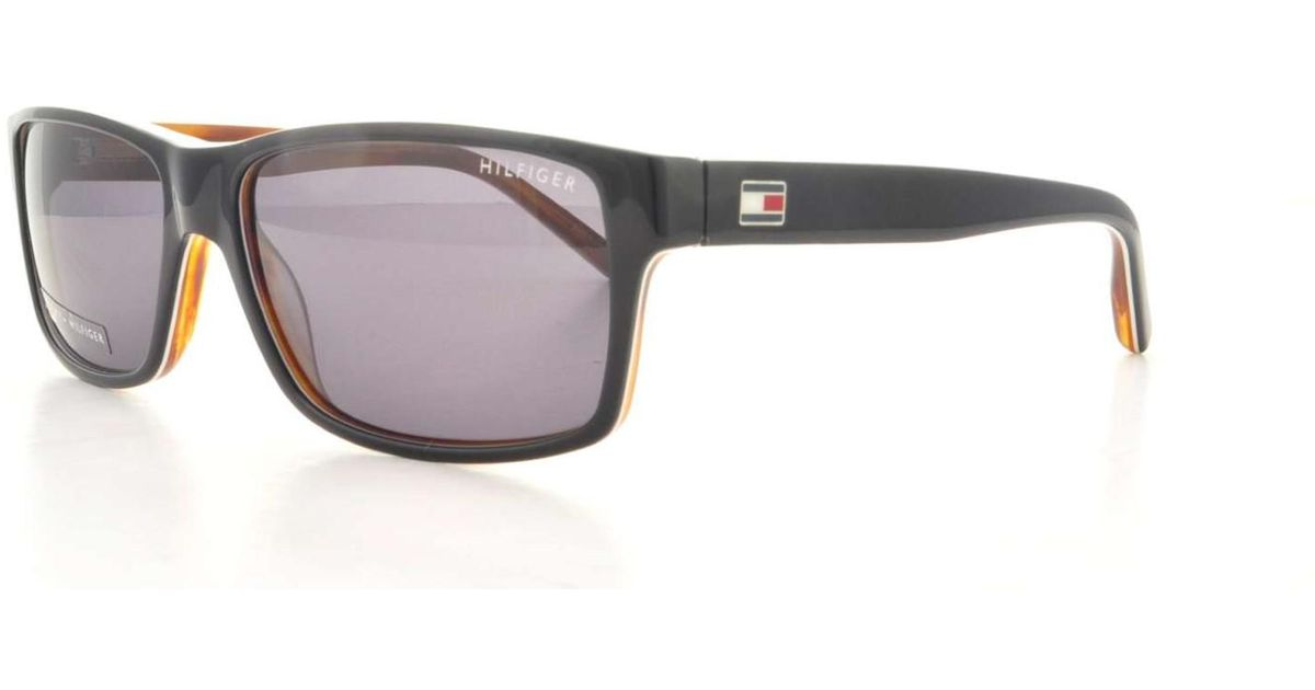 Tommy Hilfiger TH 1042/N/S UNO Y1 57 black white horn / grey i5xGV34Ez