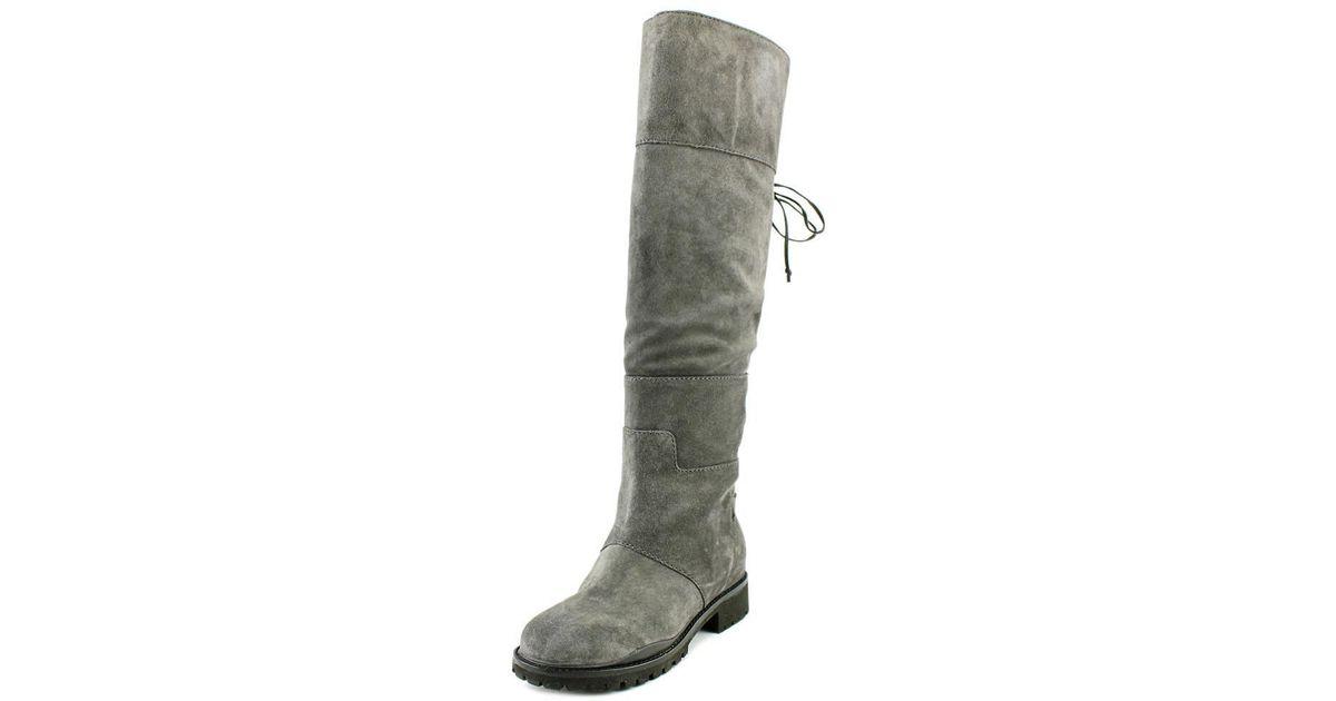 fbbd129473f Lyst - Nine West Mavira Women Us 6.5 Gray Over The Knee Boot in Gray