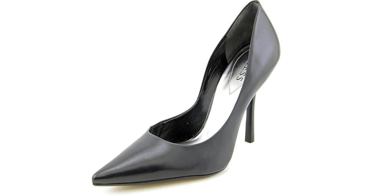 d1c9a66111b Lyst - Guess Carrie Women Us 8 Black Heels in Black