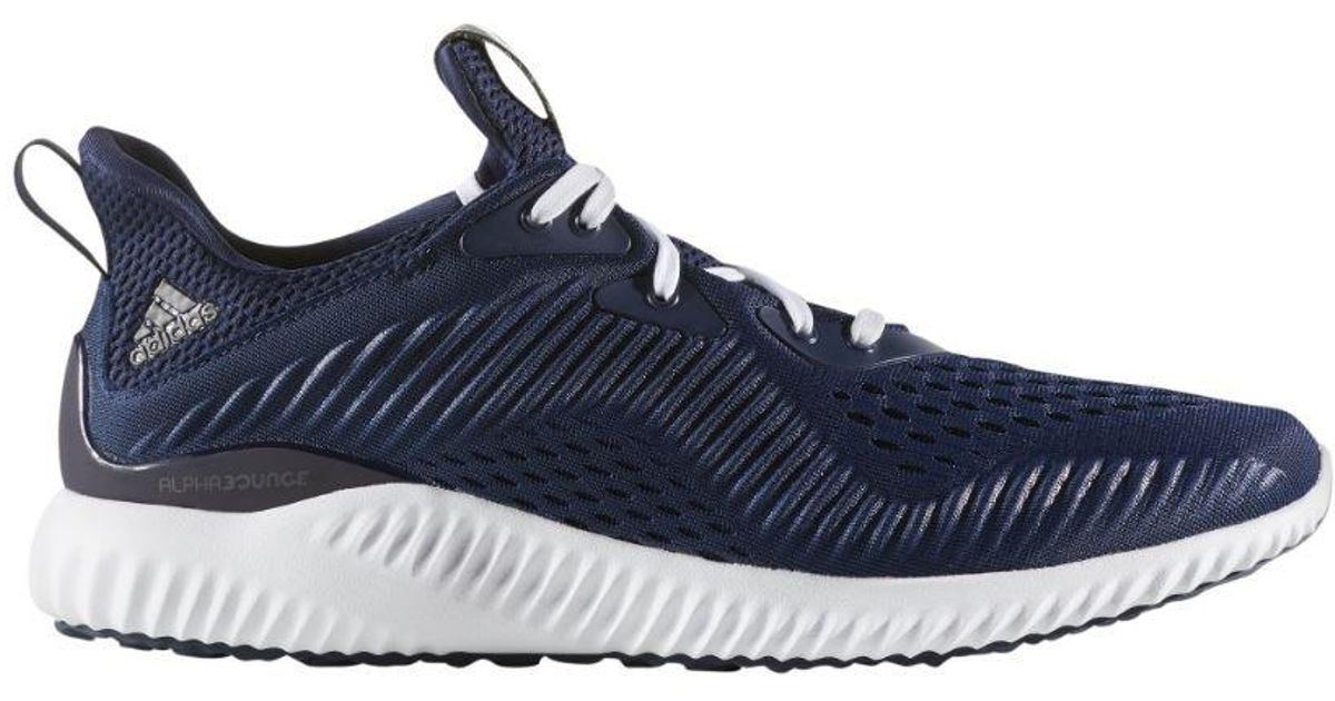 2aa798fe40cef Lyst - adidas Originals Alphabounce Engineered Mesh Running Shoes (navy in  Blue for Men