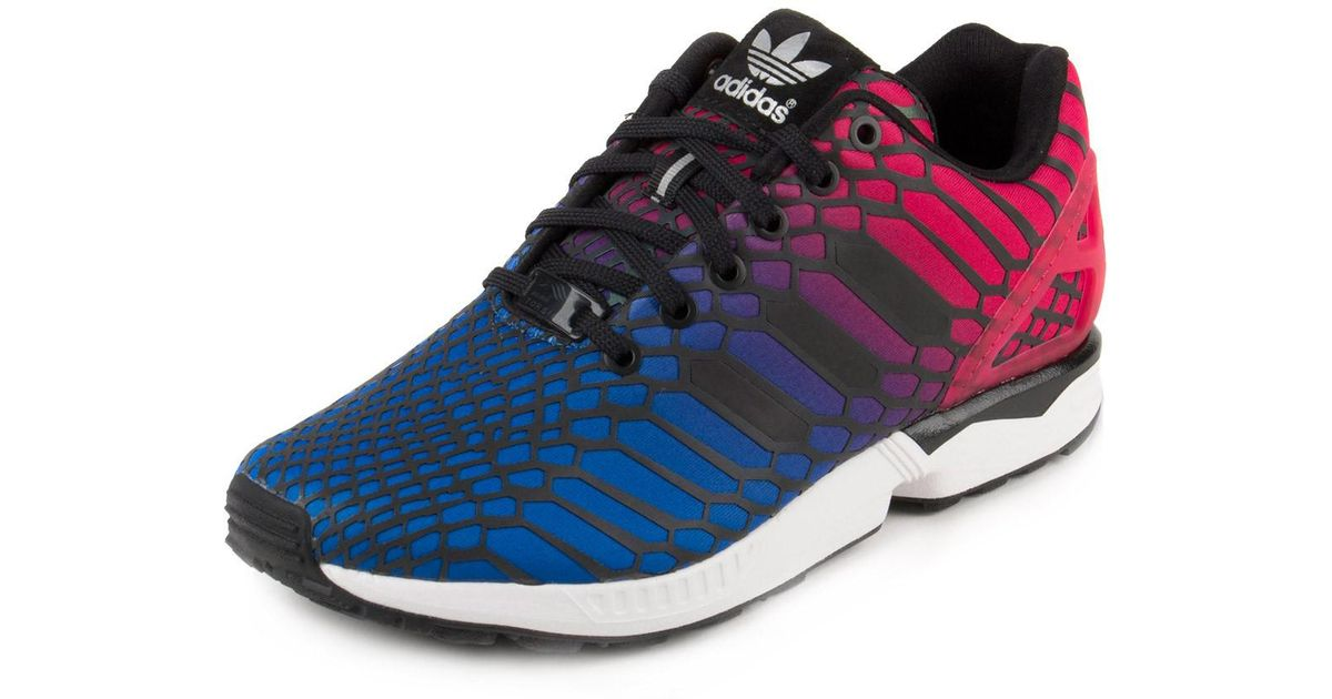 3d81402779ddc ... cheapest lyst adidas zx flux xeno w shoes size 9.5 for men e015e 74ca9  get adidas blue red ...