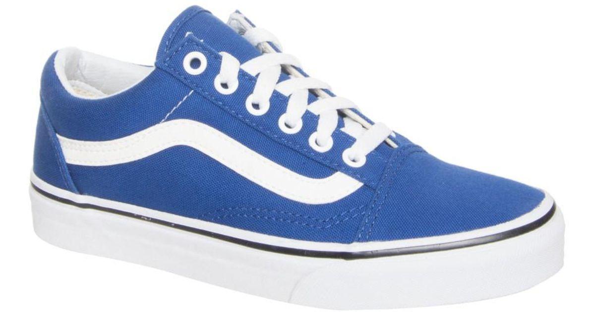 vans old skool low blue