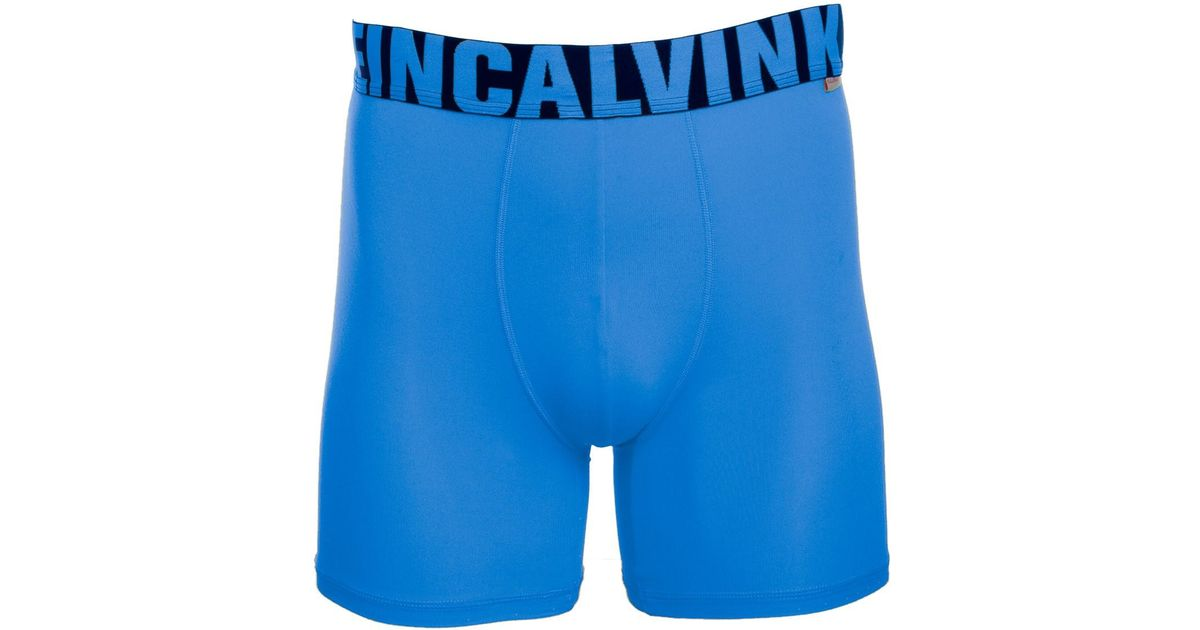 84d797e44950 Calvin Klein 's Boxer Briefs Steel Micro X Athletic Stretch Moisture  Wicking Trunks Breathable Microfiber in Blue for Men - Lyst