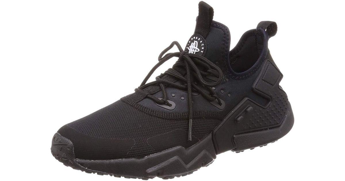 86e00a0d1ac Lyst - Nike Men s Air Huarache Drift Running Shoe in Black for Men