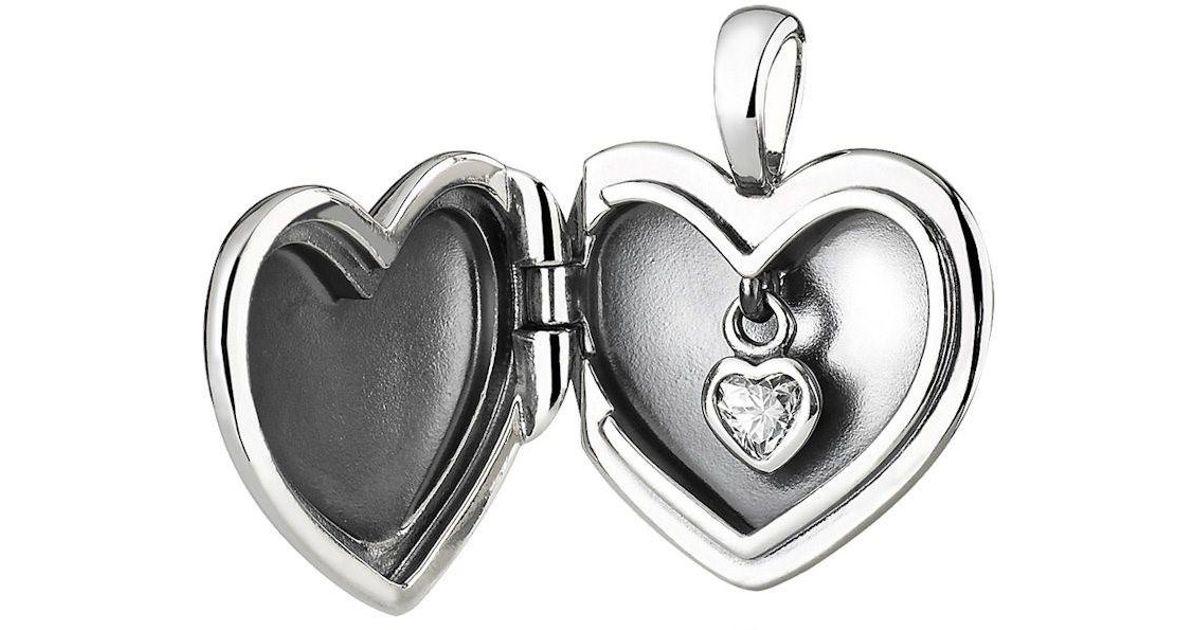 7a876432f339d Plain Heart Necklace Pendant Pandora - Pendant Design Ideas