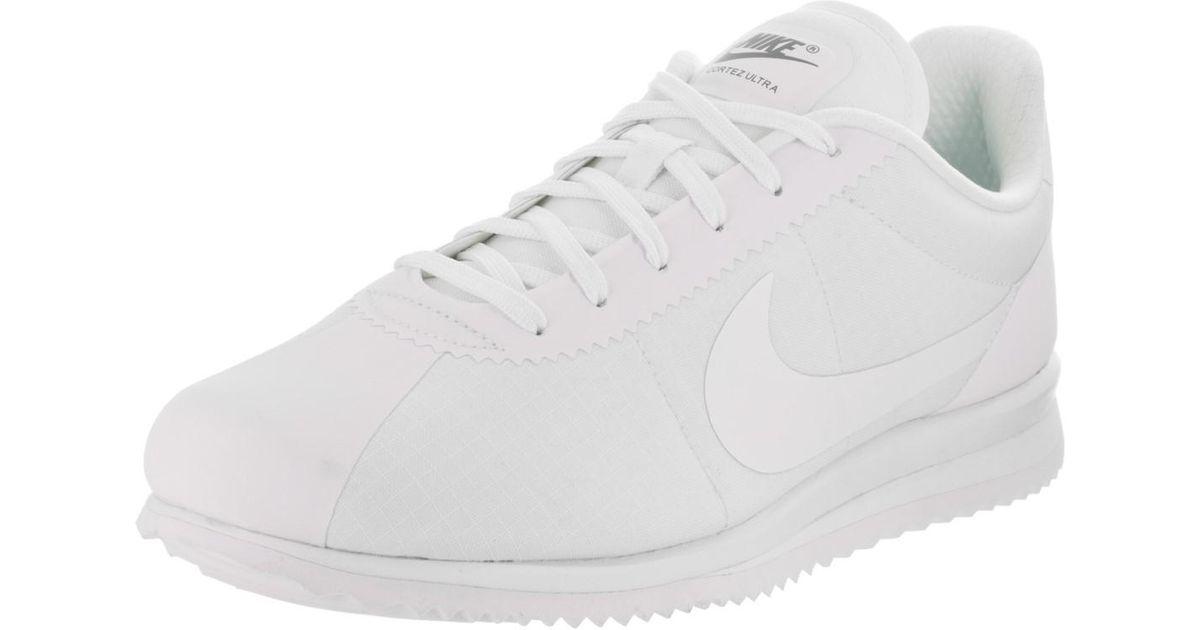 Nike | Cortez Ultra Whitewhite Cool Grey Casual Shoe 9 Men Us for Men | Lyst