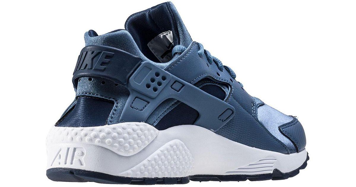 60070ddb8ed6 Lyst - Nike Air Huarache Run Ocean Fog midnight Navy White Running Shoe  (blue in Blue for Men