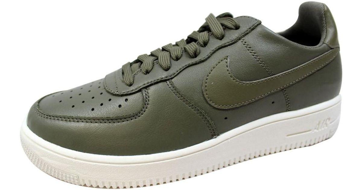 dda782170ec Lyst - Nike Air Force 1 Ultraforce Leather Medium Olive 845052-201 for Men