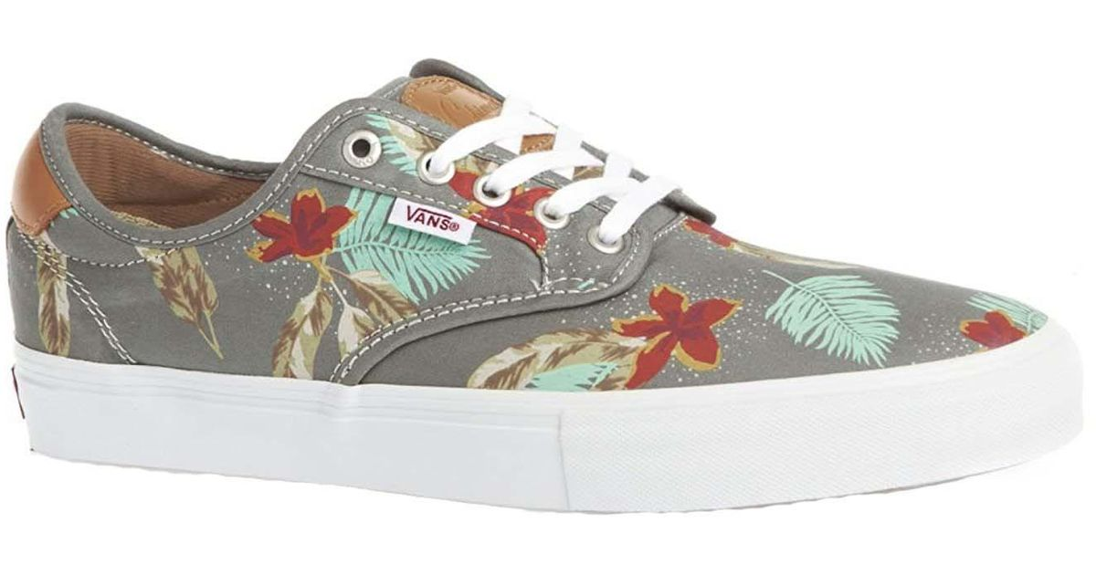 8631ec626c7a Lyst - Vans Unisex Chima Ferguson Pro Aloha Skate Shoes-aloha light Grey-7  in Gray