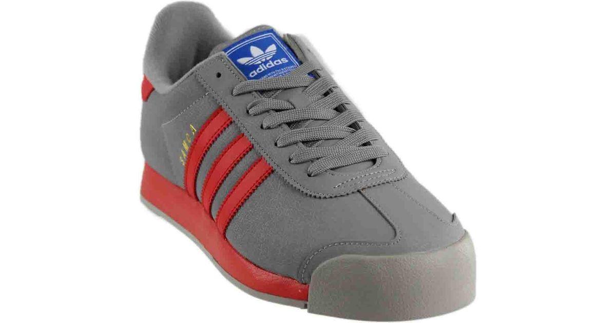 09415823179c Lyst - adidas Bb8586  Originals Mid Retro Grey Poppy satellite Samoa Sneaker  in Gray for Men