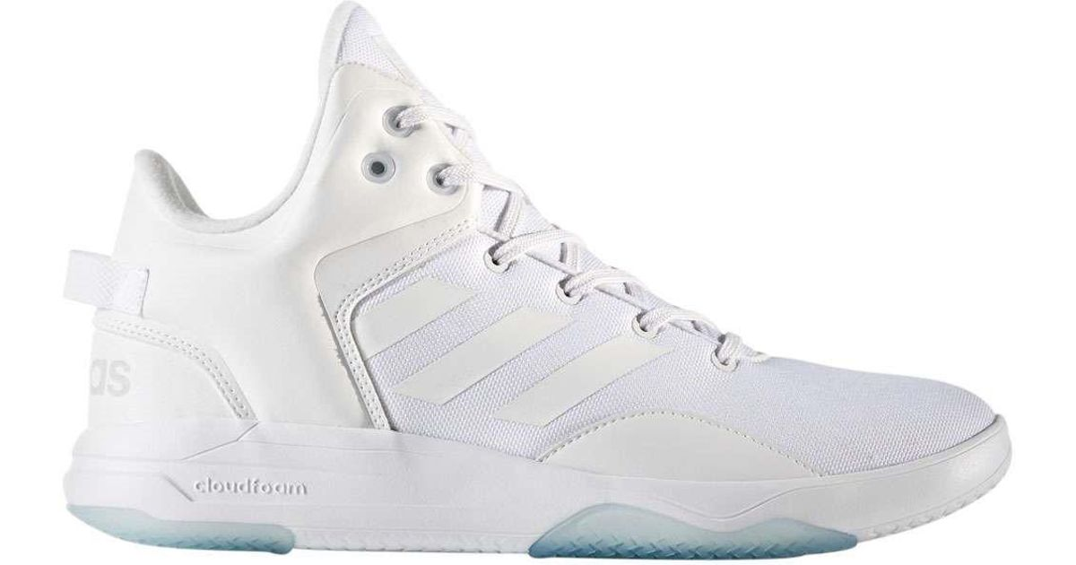 Lyst - adidas Cloudfoam Revival Mid in White for Men d94509e15