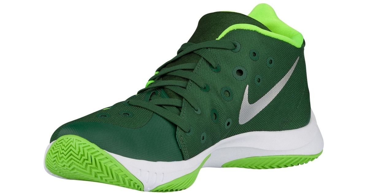 00388df3716 Lyst - Nike Zoom Hyperquickness 2015 Basketball Shoe in Green for Men