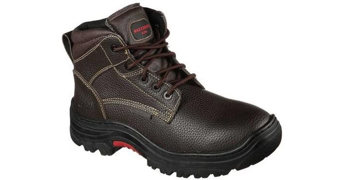 a3bbd7ca590 Skechers - Brown Work Relaxed Fit Burgin Congaree Boot for Men - Lyst
