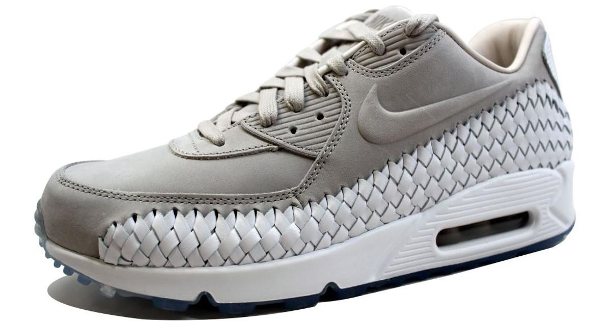 newest collection e51e4 d017d Lyst - Nike Air Max 90 Woven Light Iron Ore light Iron Ore-white Phantom  833129-005 in Gray for Men