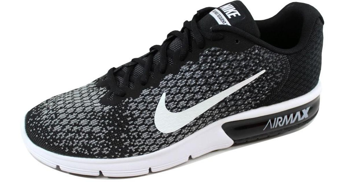ba4611942d7b3 Nike - Black Air Max Sequent 2 Running Shoe 11.5 Us for Men - Lyst
