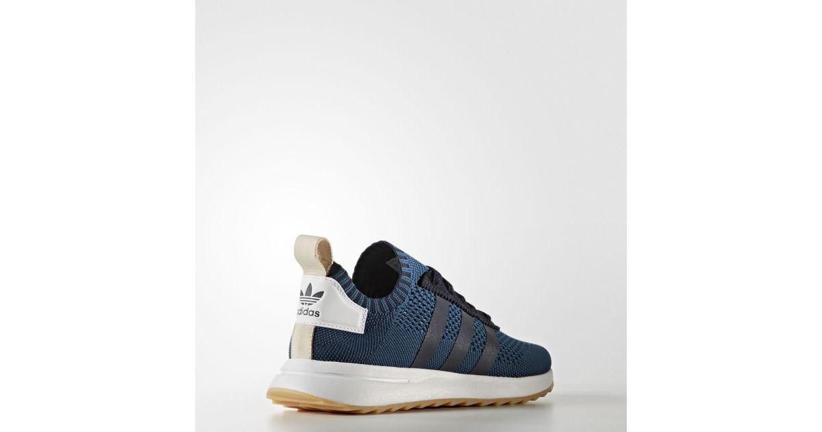 b1498a04289c92 Lyst - adidas Flashback Primeknit Shoes in Blue