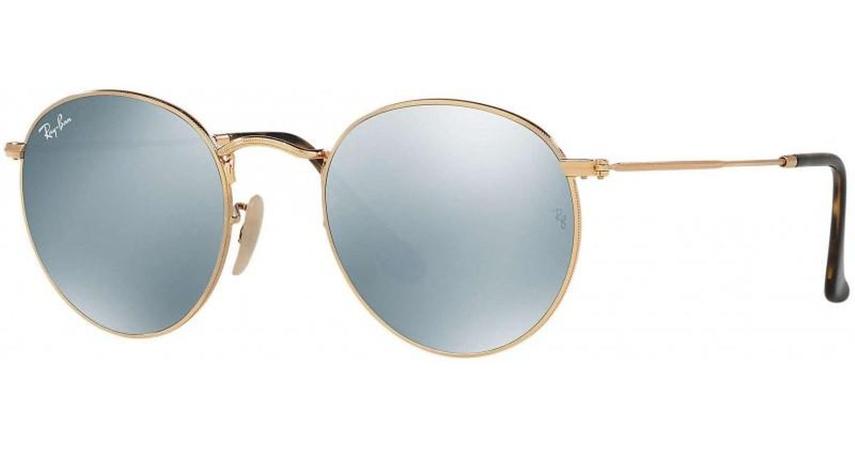 d613155a796 Ray-Ban. Women s Rb3447 53 Round Metal
