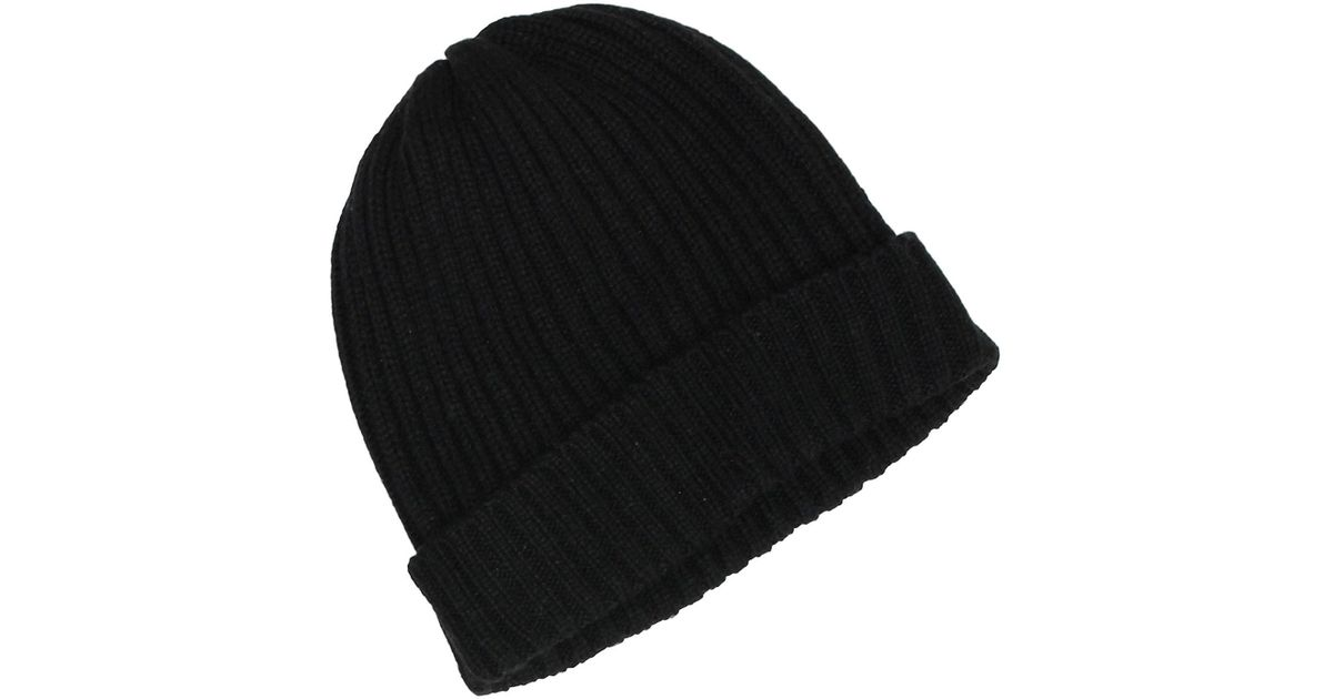 8a8f888098e44b ... france lyst levis men 2x2 ribbed cuff beanie black hat one size style  44lv040007 in black
