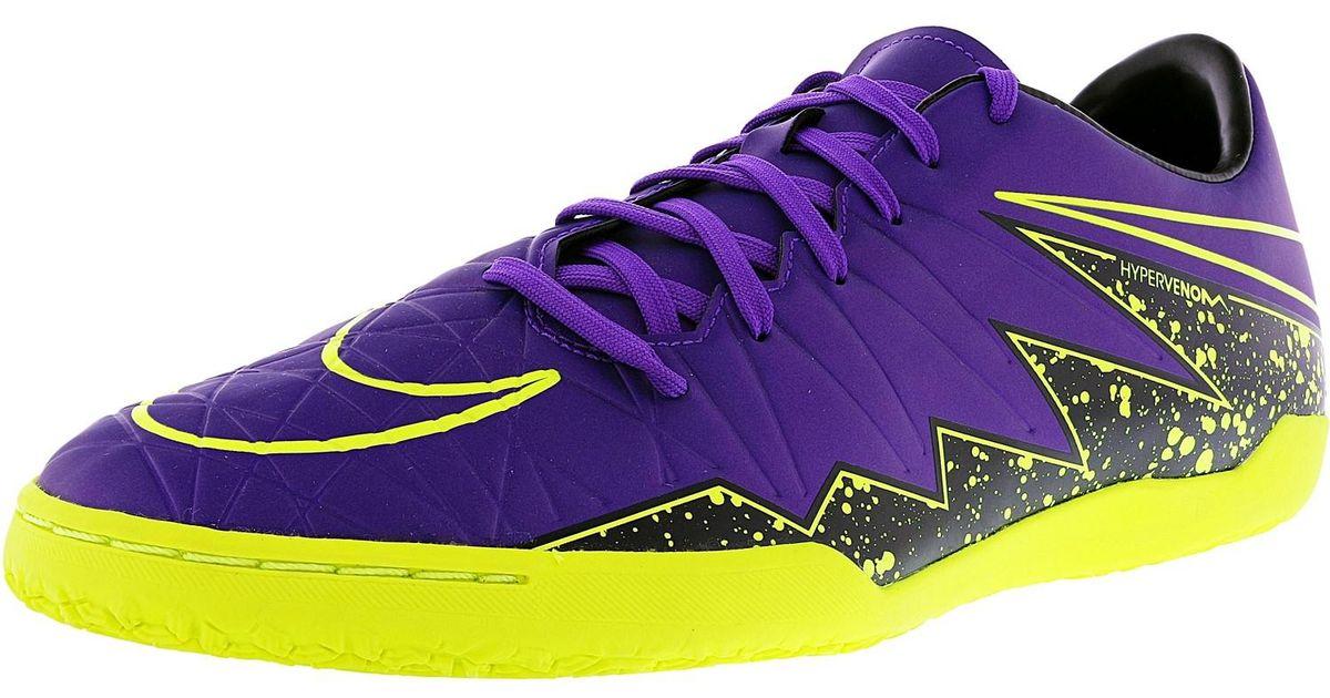 oryginalne buty najtańszy Zjednoczone Królestwo Nike - Purple Hypervenom Phlenon Ii 550 Ankle-high Soccer Shoe for Men -  Lyst