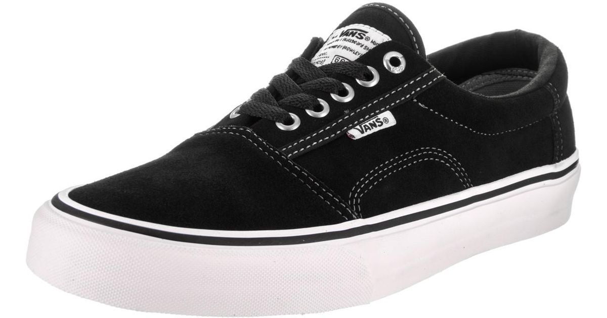 86888e8cce099c Lyst - Vans Rowley Solos Black white pewter Skate Shoe 7.5 Men Us in Black  for Men