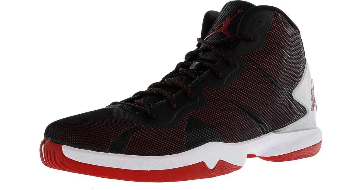 super popular d6465 6e084 Nike Jordan Super Fly 4 High-top Basketball Shoe - 15m in Black for Men -  Lyst