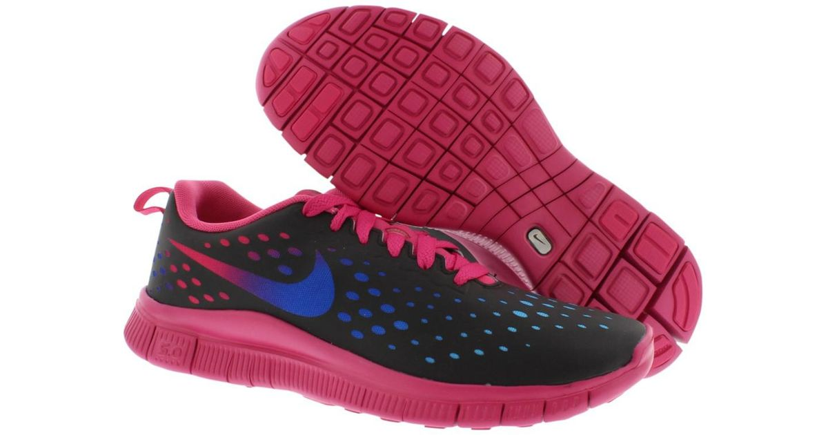 6a67cb9d8236 Lyst - Nike Free Express Gradeschool Girl s Shoes in Pink