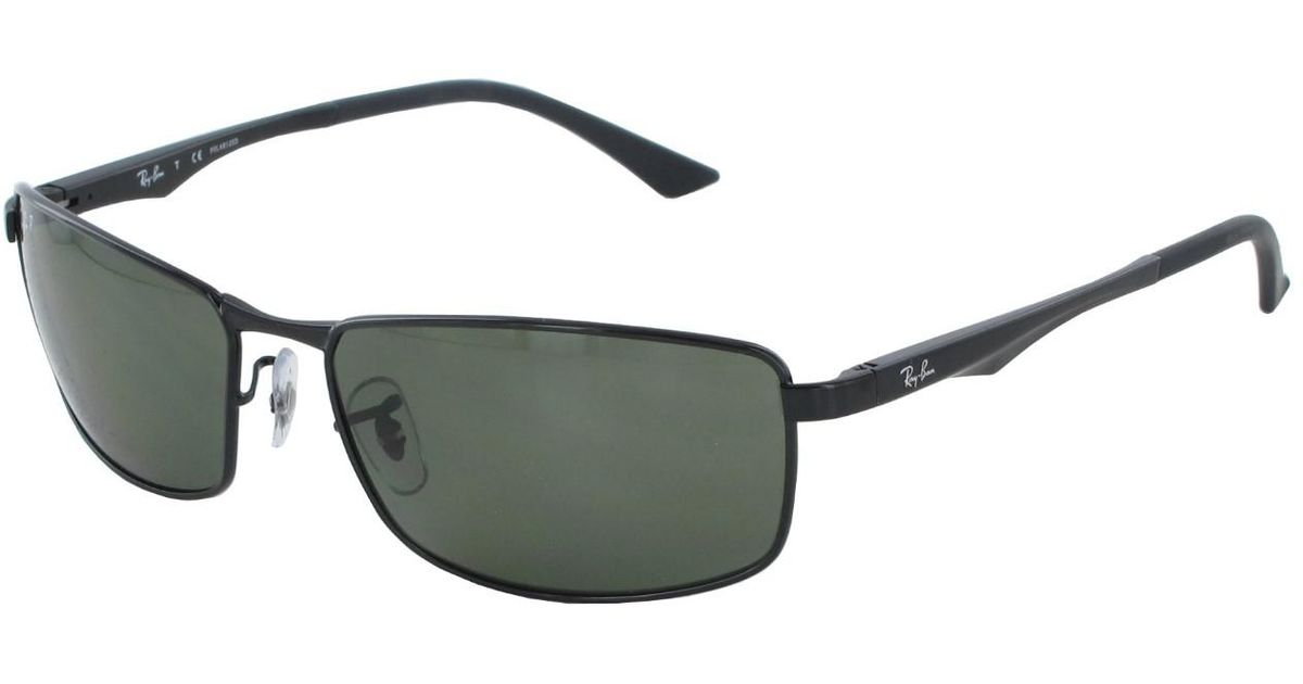 5663d707902 Lyst - Ray-Ban 0rb3498 002 9a 64 Black polar Green Active Lifestyle  Sunglasses in Green for Men