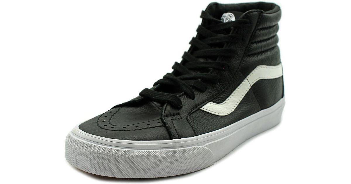 b0cc2f6292 Lyst - Vans Sk8-hi Reissue Women Us 6 Black Sneakers in Black