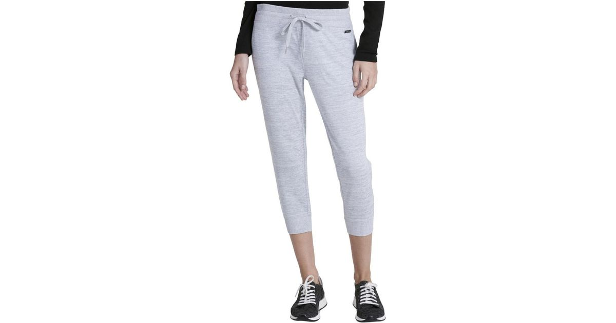 e41035b90c Calvin Klein - Multicolor Heathered Running Athletic Pants - Lyst