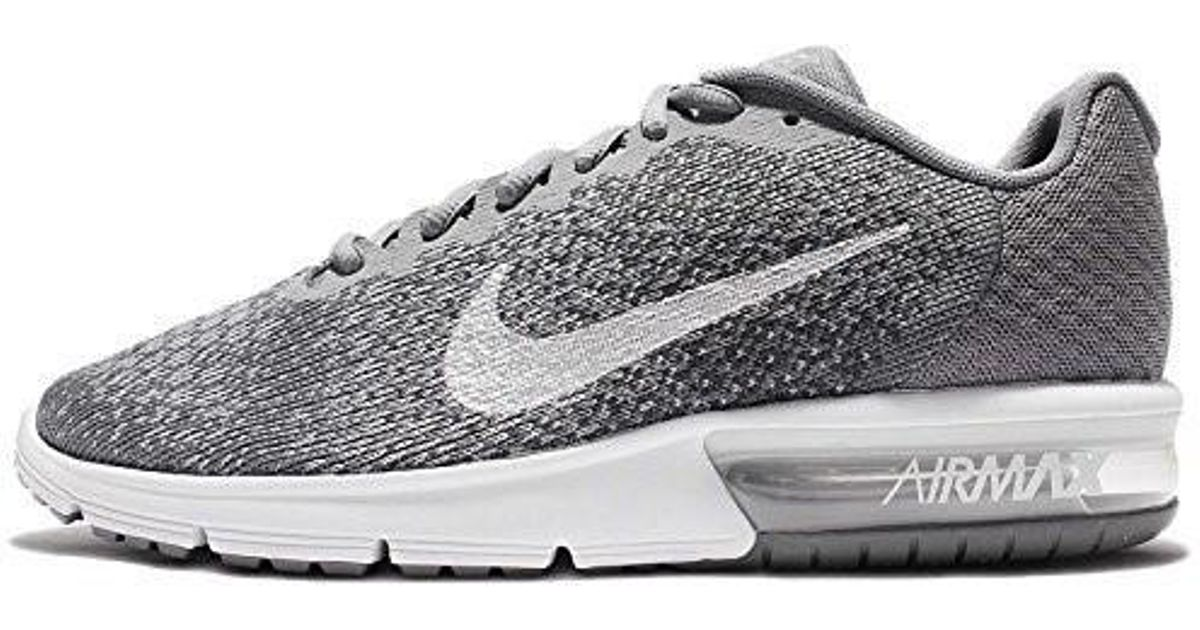 the latest 9b7c7 cca4c Lyst - Nike Air Max Sequent 2 Running Trainers 852461 Sneakers Shoes in  Gray for Men