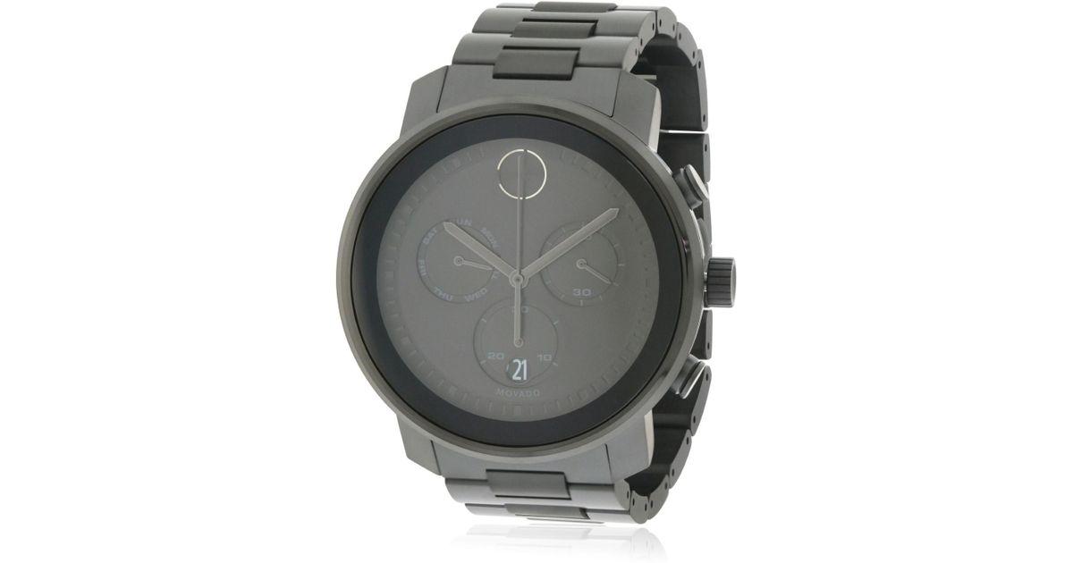 fffd5bb09 Lyst - Movado Bold Chronograph Watch 3600484 for Men