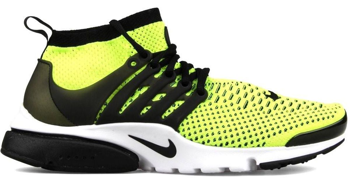 new style 86865 f0f8e Lyst - Nike Air Presto Flyknit Ultra Volt black white 835570-701  (size 10.5) for Men