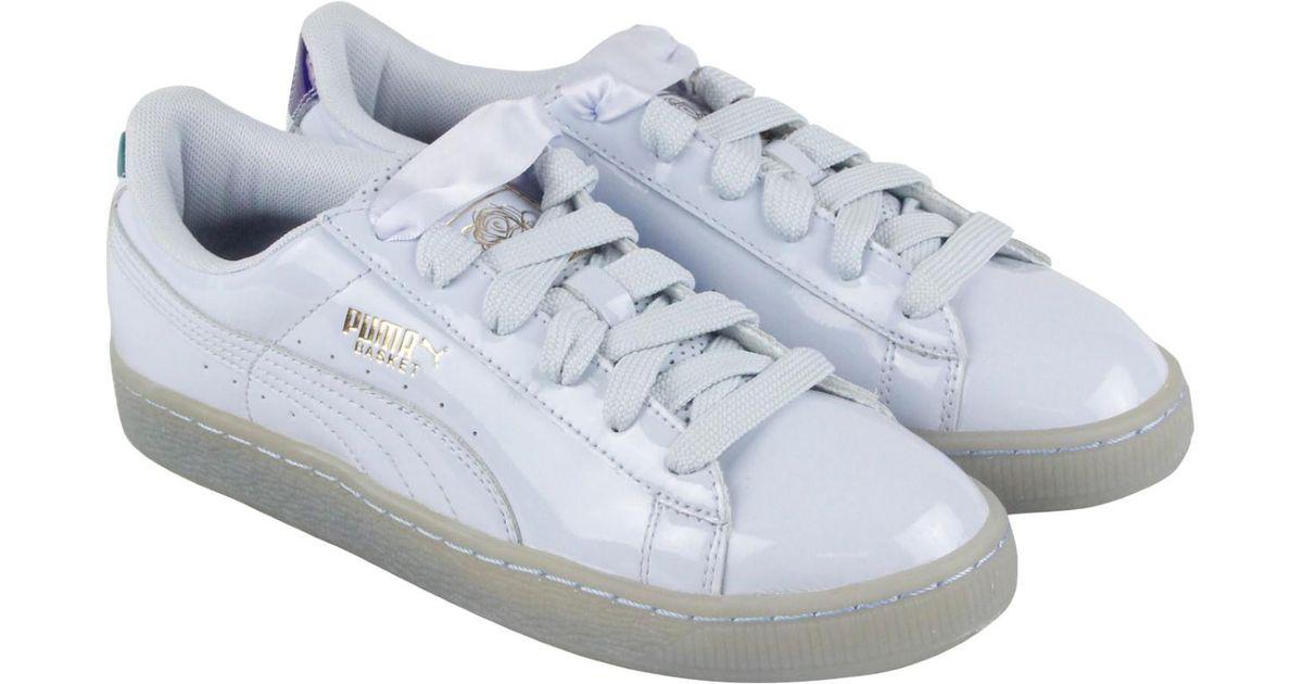 Men Puma Careaux Basket Halogen Sneakers For X Blue Lyst Up Lace VpSULqMGjz