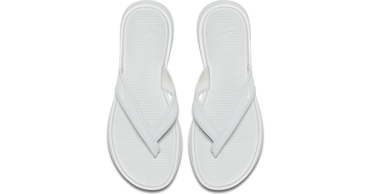 2f364ff82a7f2b Lyst - Nike Womens Celso Thong (pure Platinum white in White