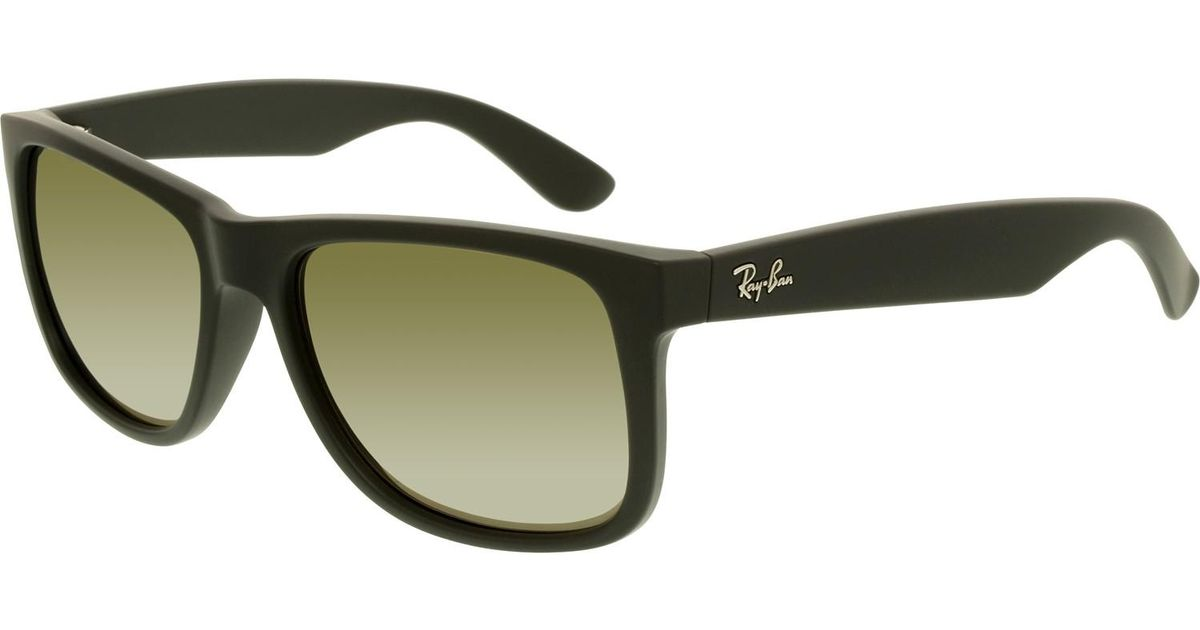 1ed184f36e1 Lyst - Ray-Ban Justin Color Mix Gold Mirror Sunglasses Rb4165 622 5a 55 in  Metallic for Men