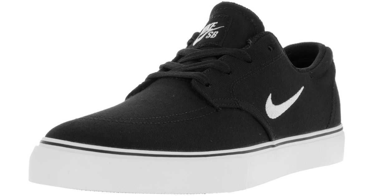 ae6af2c2f2ea9 Lyst - Nike Sb Clutch Black white Skate Shoe 10 Men Us in Black for Men