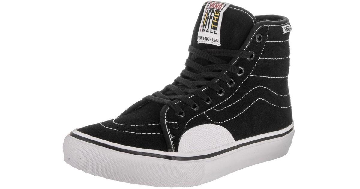 Lyst - Vans Av Classic High Pro Black white Skate Shoe 7.5 Men Us in Black  for Men c284adbbf
