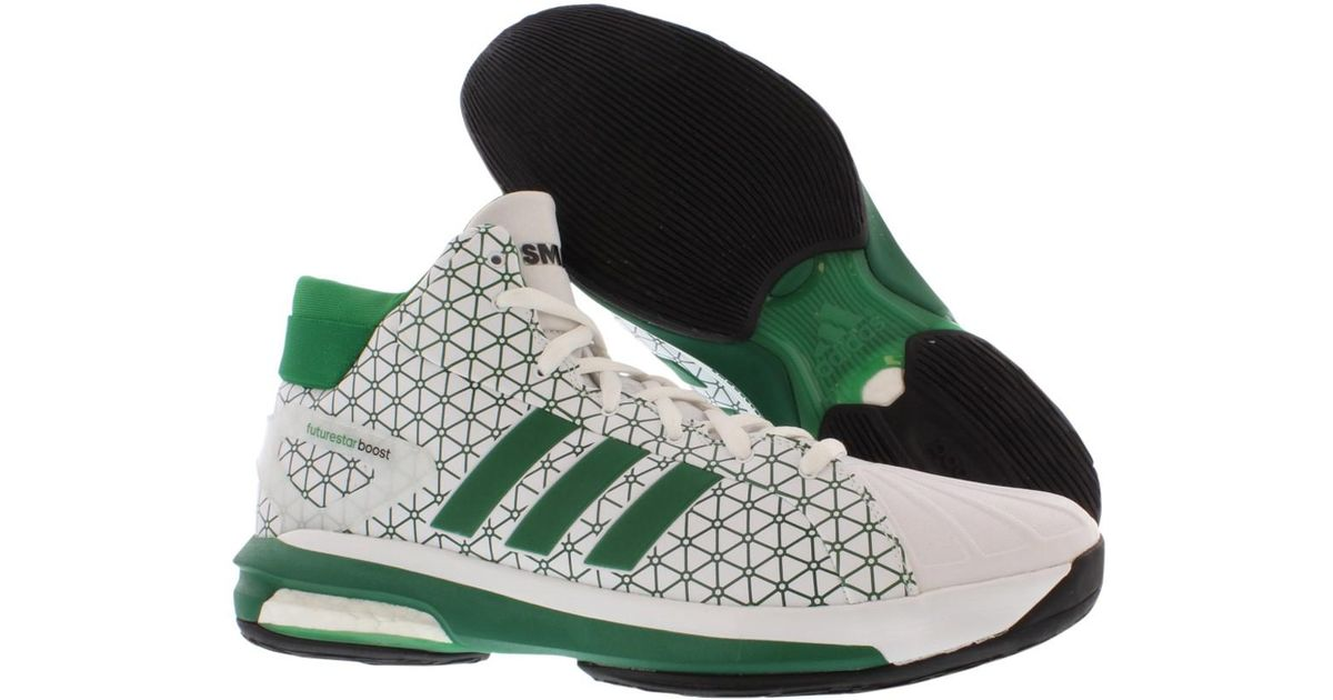 029fd141d505 Futurestar Adidas Basketball Shoes Boost Asp Lyst In Smart Green wpS4Eq