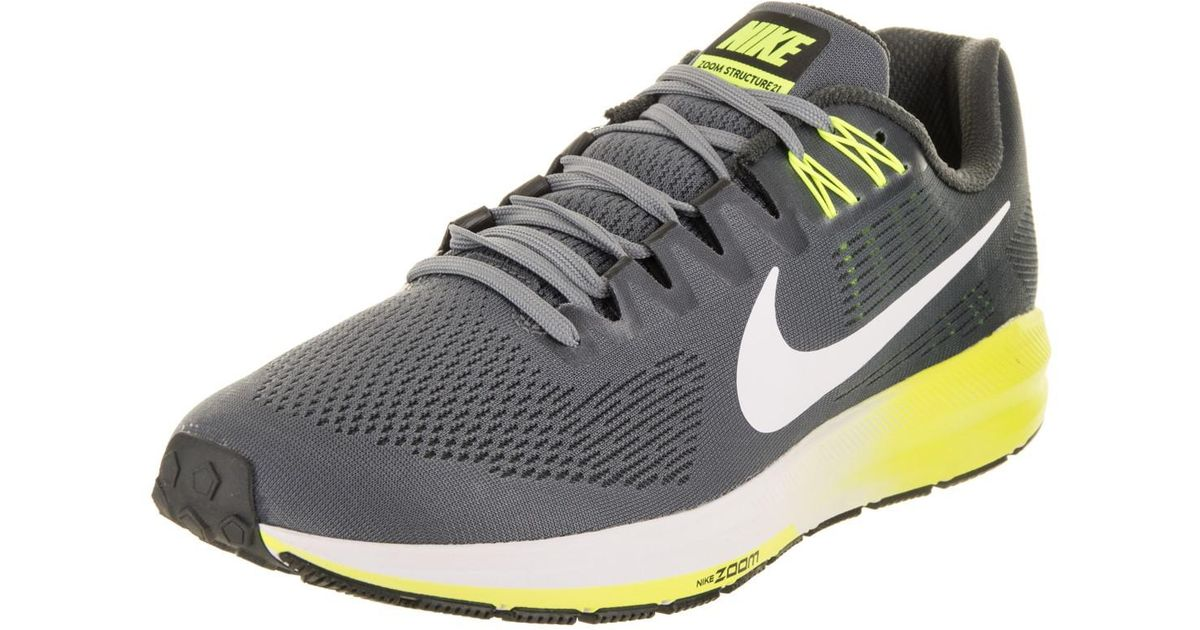 Lyst - Nike Air Zoom Structure 21 Running Shoe 10 Us in Gray for Men 5509c82fc