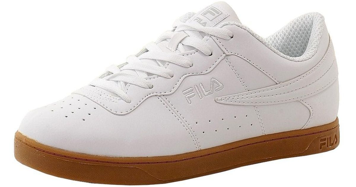 ac7a7c31e9d Fila Court 13 Low Fashion White/gum Leather Sneakers Shoes Sz: 8.5 in White  for Men - Lyst
