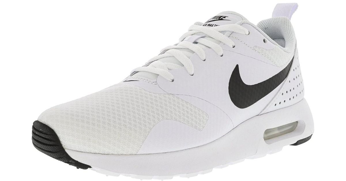 c56b870aa5 ... low price lyst nike air max tavas ankle high running shoe 9.5m in white  for