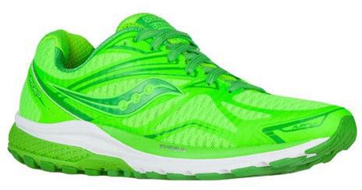 buy online 0a4c4 d9b88 Saucony - Green Ride 9 Running Shoe for Men - Lyst