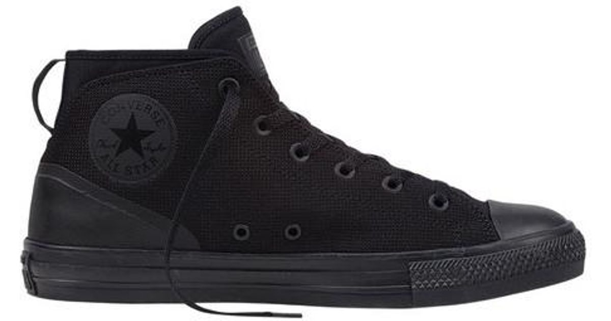 Lyst - Converse Unisex Chuck Taylor All Star Syde Street Mid Sneaker in  Black for Men 7845a4d9a