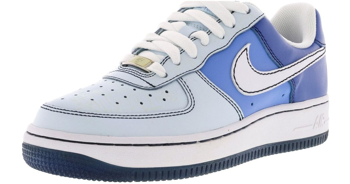 9eb0c8c283824 Lyst - Nike Air Force 1 07 Glacier Blue   White-varsity Blue-university  Ankle-high Basketball Shoe - 7m in Blue