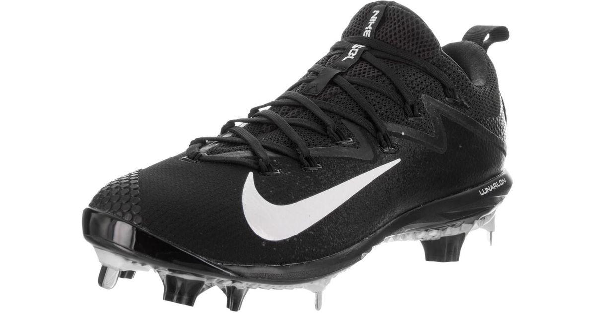 e3657fb3a6a0 Lyst - Nike Lunar Vapor Ultrafly Elite Black white black Baseball Cleat 9.5  Men Us in Black for Men