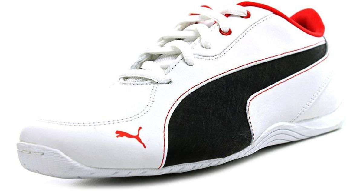 PUMA Drift Cat 5 L Nu Jr Youth Us 7 White Sneakers for Men Lyst