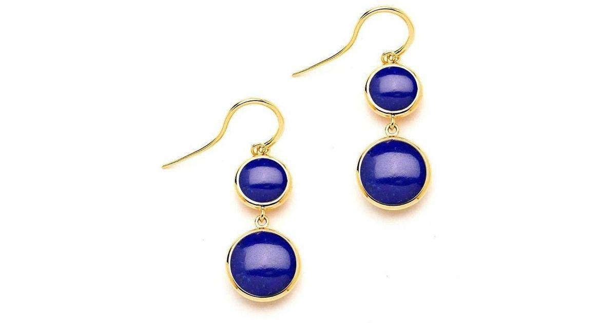 Syna 18kt Lapiz Lazuli Earrings O8y40sJWE