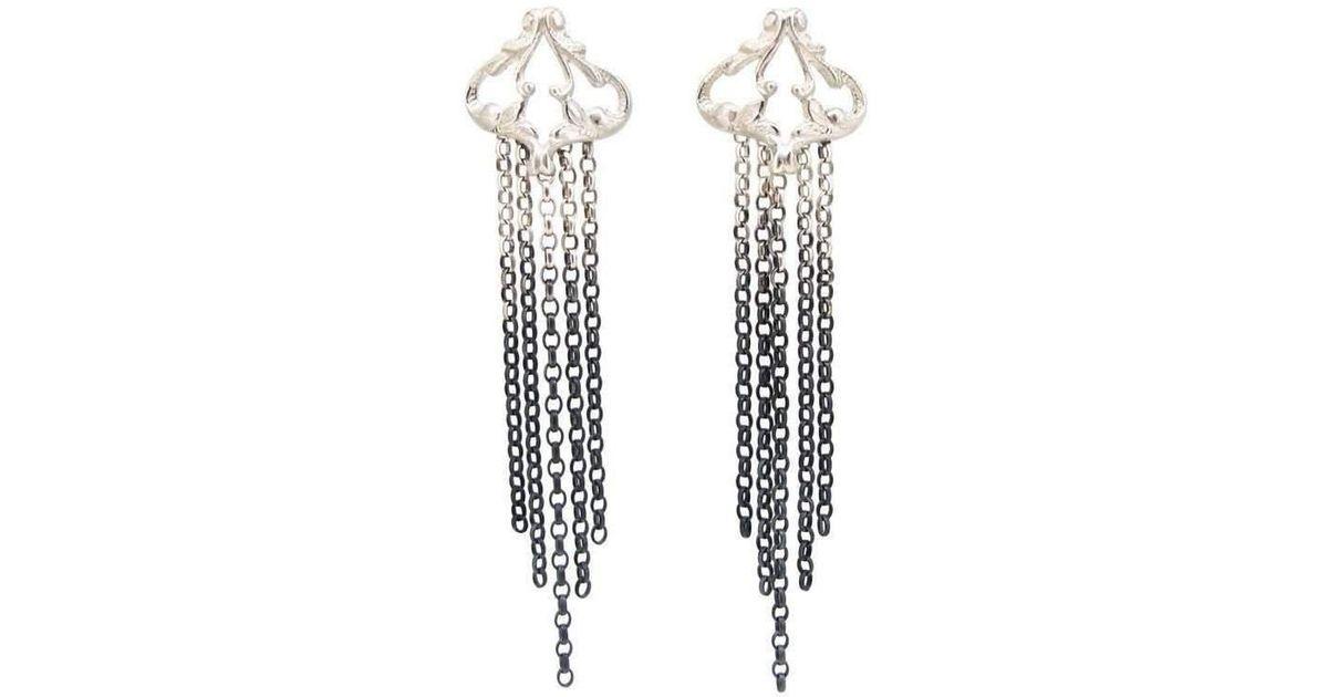 Sian Bostwick Jewellery Iseult Swing Drop Earrings 8XiWajfzIx